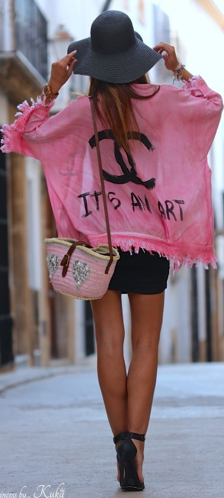 pink. chanel.
