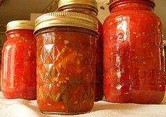 Salsas de tomates bajas calorías