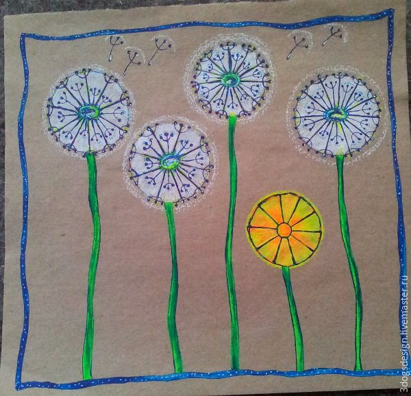 За окном весна, «солнце в глаз, серо-бурая грязь под ногами», как поется в одной песенке, а на самом деле — все какое-то серое и унылое, особенно в родном Питере. Хочется цвета! И чем ярче, тем лучше. И тут на помощь нам приходят неоновые гелевые ручки. Данный мастер-класс не претендует на художественную или какую-либо иную живописно-графическую ценност…