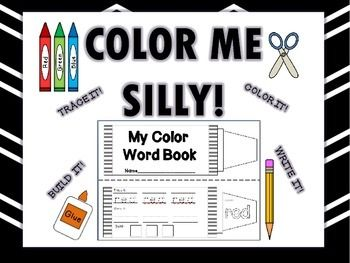 Hello,This booklet includes a cover page and 10 activity worksheets for the colors: red, blue, pink, yellow, brown, white, black, orange, blue, green.Each page the students : Trace, Write, Build, and Color the word.It can be stapled into a booklet or added to an interactive notebook.**The Spanish Version is included in this bundle**English or Spanish versions available in my store.A SAVINGS of 25%!Thanks,Learning and GrowingCommon Core State Standards for English Language Arts & Literacy ...