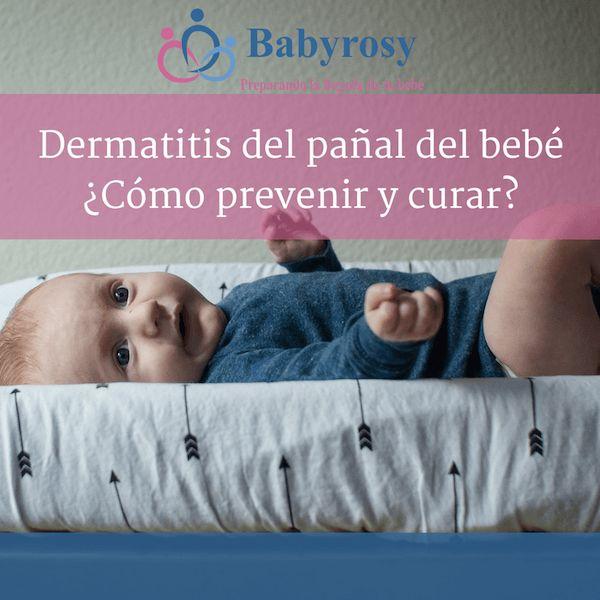 La dermatitis del pañal del bebé en muchas ocasiones puede llegar a ser muy angustiante, en este artículo veremos cómo prevenir y curar.