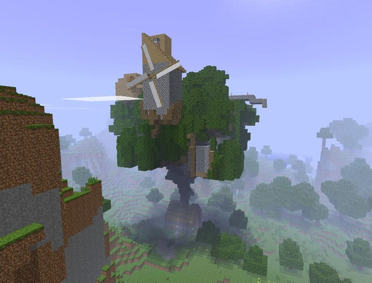 Minecraft Cool Tree Houses #Treehouse Pinned by www.modlar ...