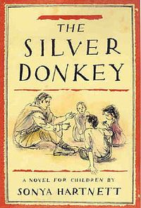 Children's war books: The silver donkey by Sonya Hartnett