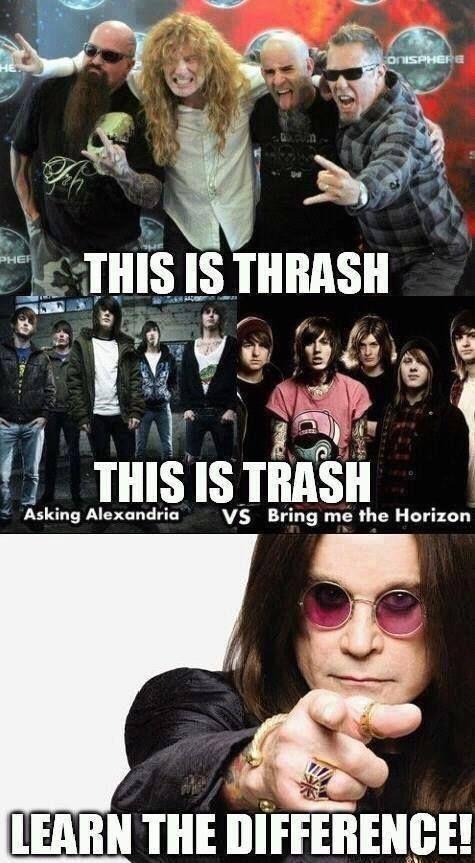 Thrash/Trash, indeed.