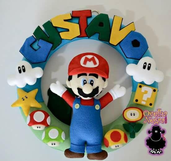 Guirlanda Super Mario