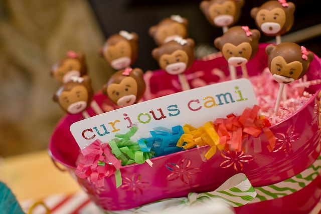 I DO invitations by michelle: Curious Cami's 3rd Birthday Party