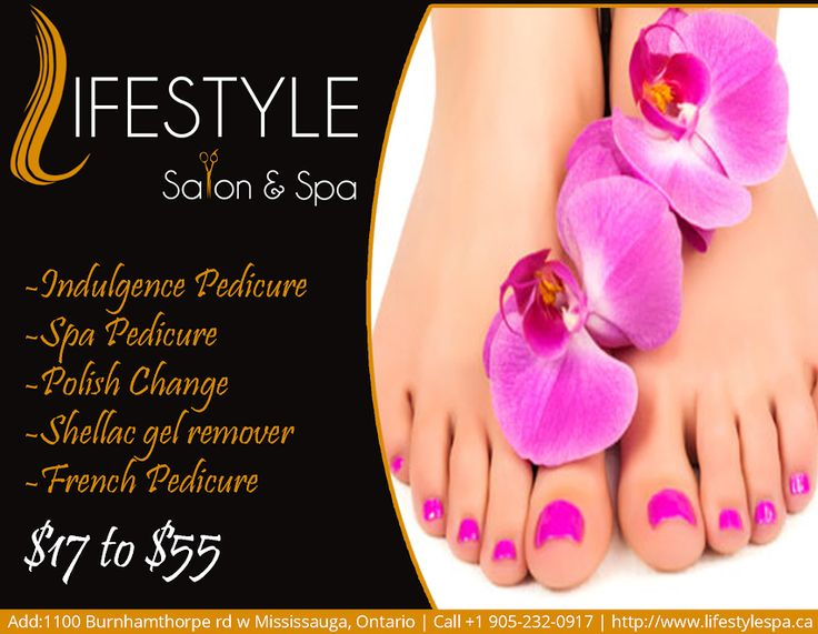 You Can't Buy Happiness But You Can Get A Really Good Pedicure ,And That's Kind Of The Same Thing!  For Appointment & More Queries :  Call: 905-232-0917 #LifeStyle #Salon&Spa #PolishChange #Pedicure #YouNeedYou