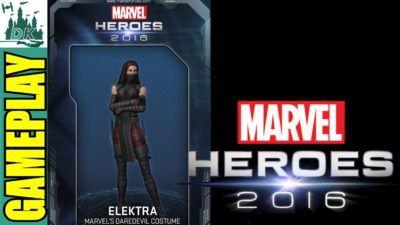 Marvel Heroes 2016 Elektra Gameplay #3
