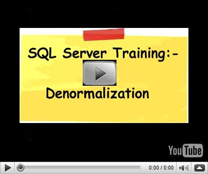 In this video we will try to understand why to do we need to denormalize tables. While understanding de-normalization concept we will also touch base on OLTP ( online transaction processing) and OLAP ( online analytical processing ) systems.  For more .NET and C# interview questions and training visit www.questpond.com