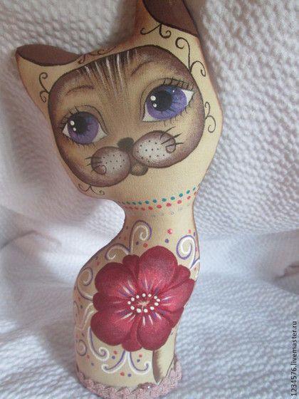 Котёнок Гав - котик,кофейная игрушка,подарок на любой случай,интерьерная игрушка