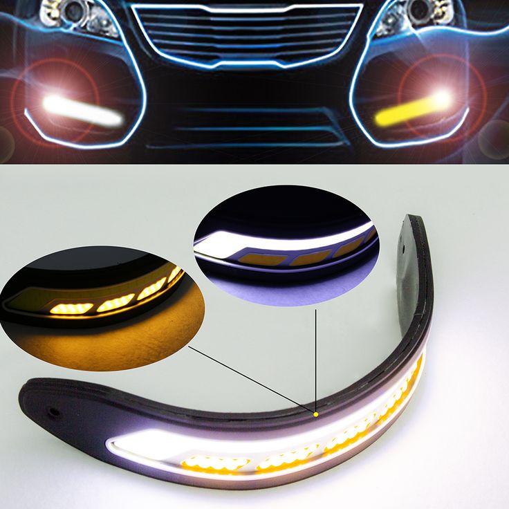 $9.09 (Buy here: https://alitems.com/g/1e8d114494ebda23ff8b16525dc3e8/?i=5&ulp=https%3A%2F%2Fwww.aliexpress.com%2Fitem%2F2PCS-Flexible-Waterproof-Side-Turn-Signals-Light-Car-Styling-COB-LED-Daytime-Running-Lights-DRL-Fog%2F32679855996.html ) 2PCS Flexible Waterproof Side Turn Signals Light Car Styling COB LED Daytime Running Lights DRL Fog Lights With Signal Light CA for just $9.09