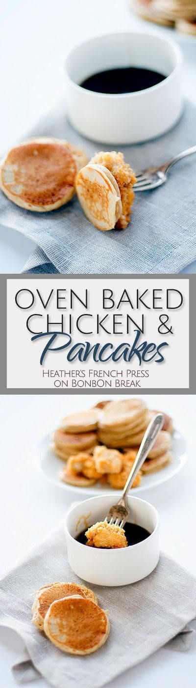 Pancakes, Breakfast and brunch and Oven fried chicken on Pinterest