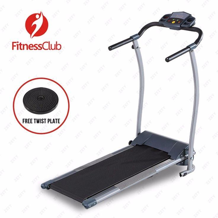 New Electric Motorized Treadmill Machine Folding Portable Running Gym Fitness…