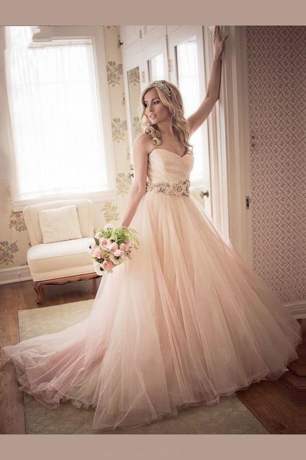 89a01af6e Wedding Dresses 2018, 2018 Wedding Dress, Pink Wedding Dress #Wedding # Dresses #2018 #Dress #Pink #2018WeddingDress #PinkWeddingDress  #WeddingDresses2018