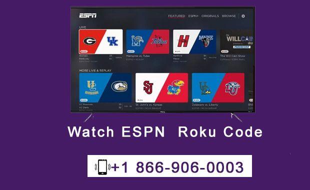 Roku Com Link To Activate Espn Plus Roku Espn Streaming Devices
