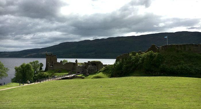 In Scozia per visitare il Castello di Urquhart