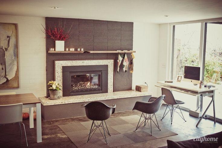 basement fireplace fireplace