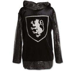 Sort riddertrøje