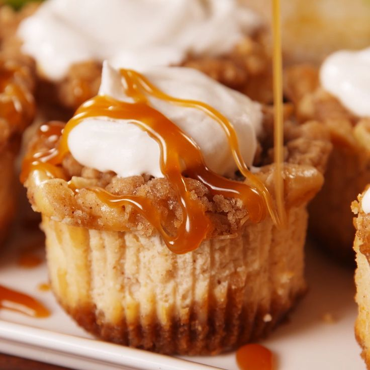 Apple pie is nice… but sweet apple crisp cheesecakes are SO much better. We pr…