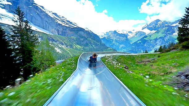 Switzerland Alpine Coaster Looks Like The Most Fun You Can Have In Life