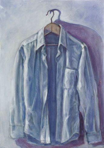 """""""Ciò che manca parte 1"""" 2012, pastello e olio su tela, cm 50 x 35"""