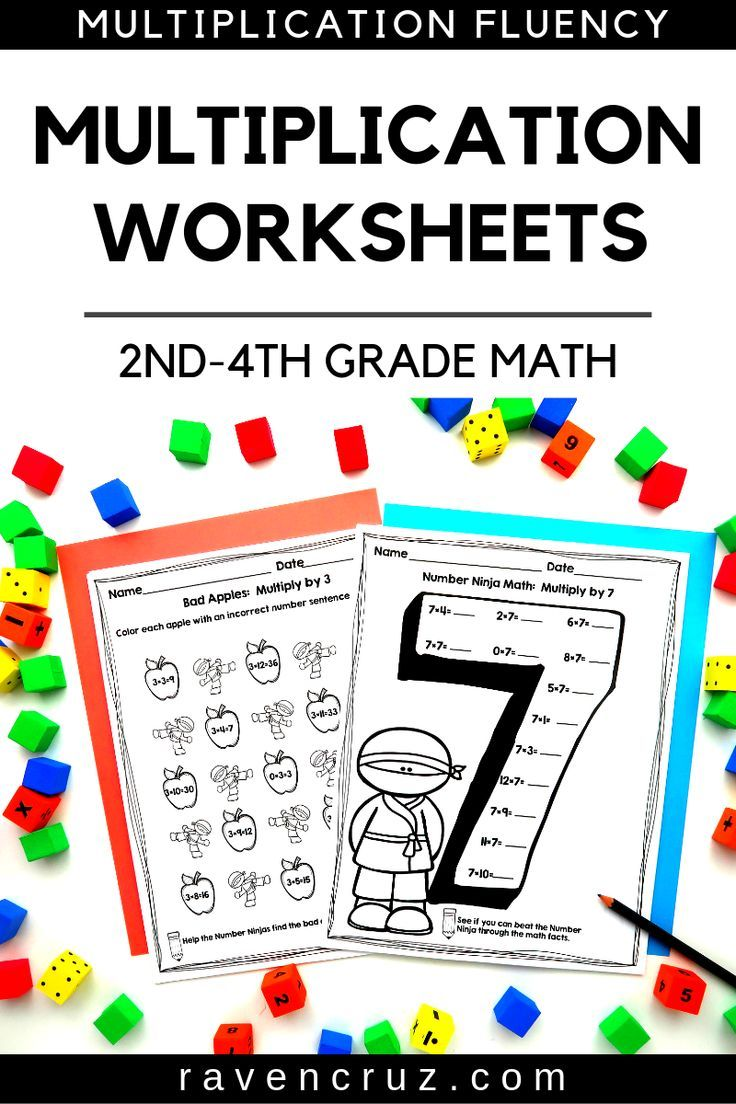 Multiplication worksheets to help your students with ...