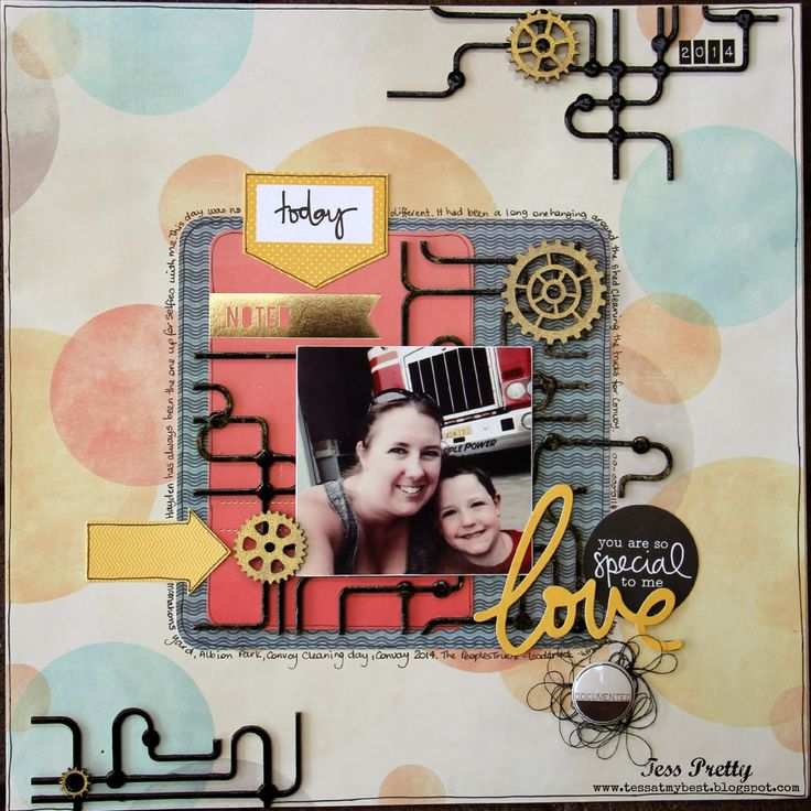 AT MY BEST... Page by Tess Pretty