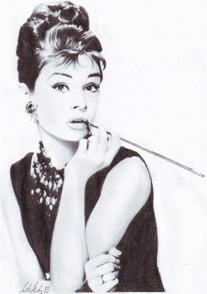 pencil art.