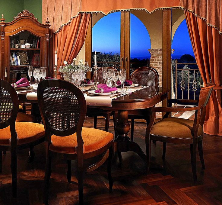 Dinner in luxury