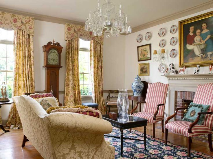 133 best Period Colonial Room Settings images on Pinterest