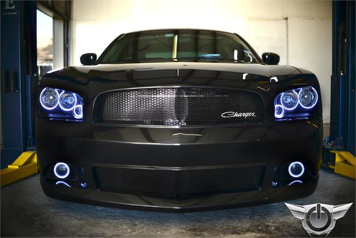 Oracle Halo Lights for Dodge Charger - 2005-2010 Dodge Charger TRIPLE RING CCFL Halo Headlight Light Kit by Oracle