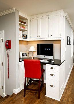 Best 25+ Kitchen office nook ideas on Pinterest | Kitchen office, Office nook and Kitchen desk ...