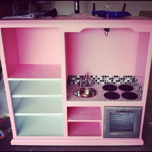 218 Best Kitchen Sink Realism Images On Pinterest: Play Kitchens Images On Pinterest