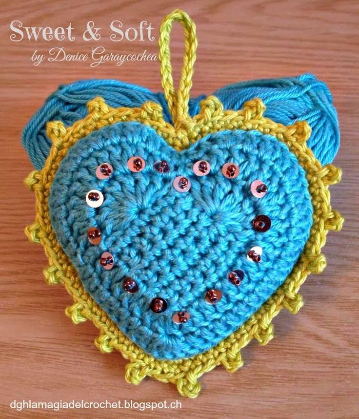 Es increíble cómo podemos jugar con nuestra creatividad, éstos corazones y también los que hice anteriormente que los pueden ver aquí DUL...