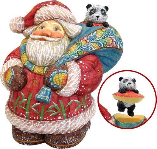 Derevo Santa with Panda Box