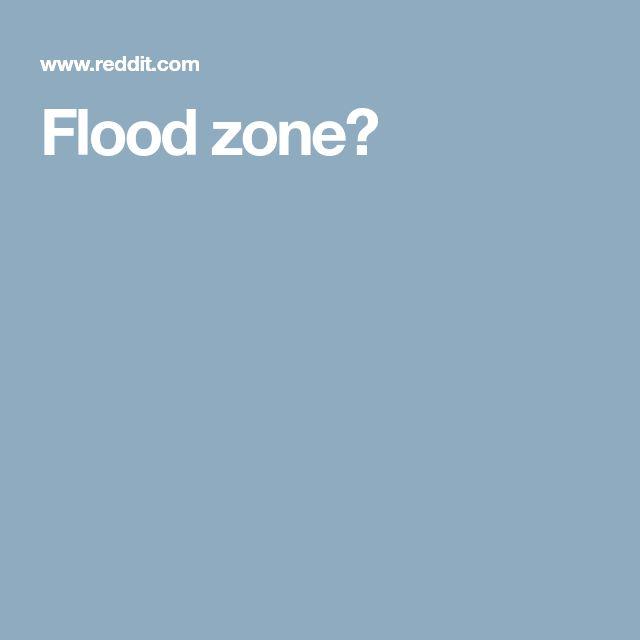 Flood zone?