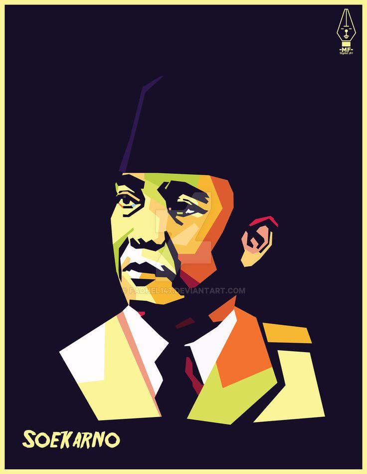 Soekarno on WPAP by Fadhel147
