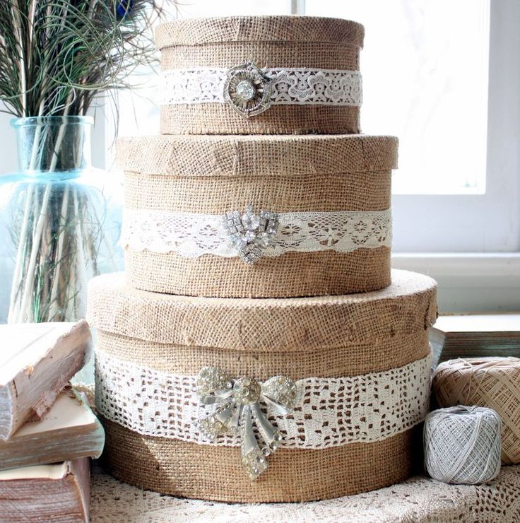 burlap wrapped furniture - Google Search