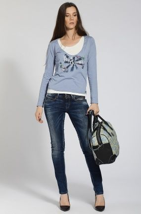 #pepejeans http://answear.cz/163458-pepe-jeans-dziny-ariel.html #ariel