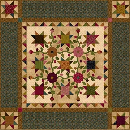 194 best Kim Diehl Quilting images on Pinterest | Small quilts ... : country quilts patterns - Adamdwight.com