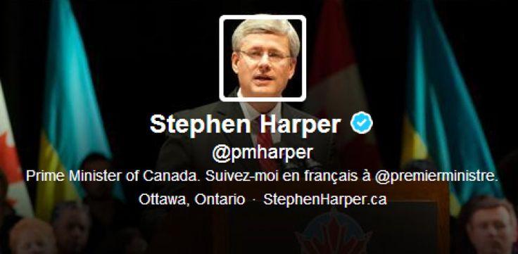 Stephen Harper's Official Twitter