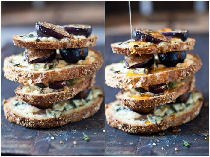 fig gorgonzola tartlette   Food and Drink Culture   Pinterest