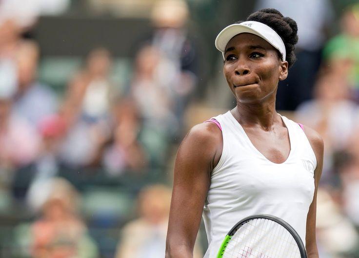 Wimbledon : Venus Williams fond en larmes