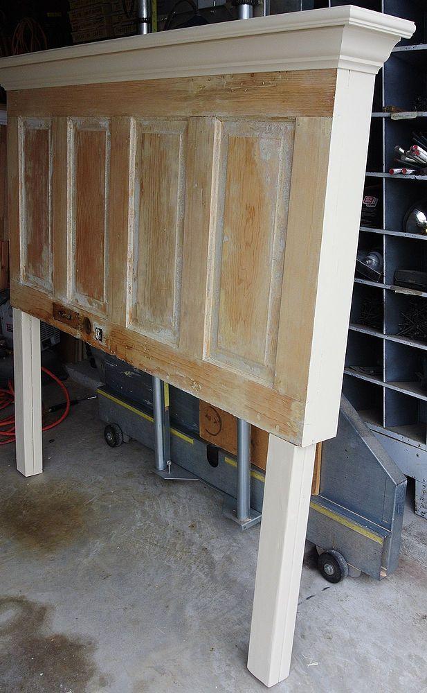 25 best ideas about old door headboards on pinterest - Headboard made from old door ...