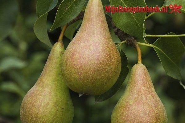 Spek met peren recept