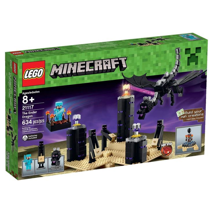 #lego #minecraft #legominecraft #theenderdragon #instalego #afollego #lego21117