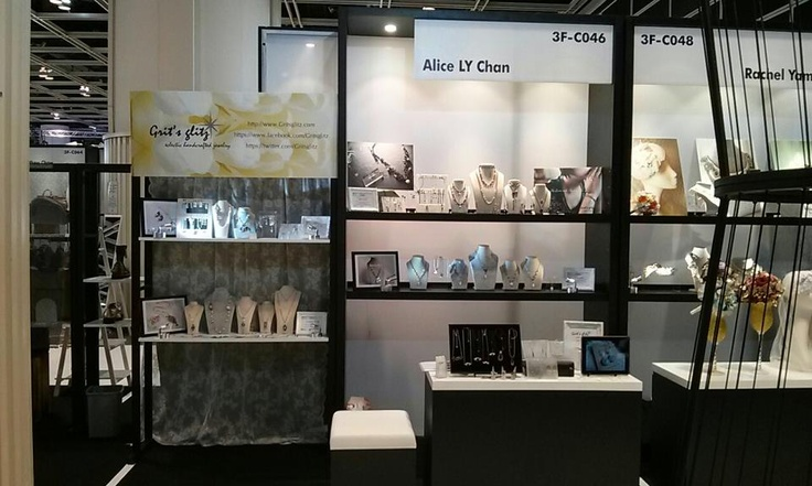 Grit's glitz' first time @ World Boutique Expo 2013 Designer Corner (subsidiary to Fashion Week) Booth no. 3F-C046, Hong Kong Convention & Exhibition Hall