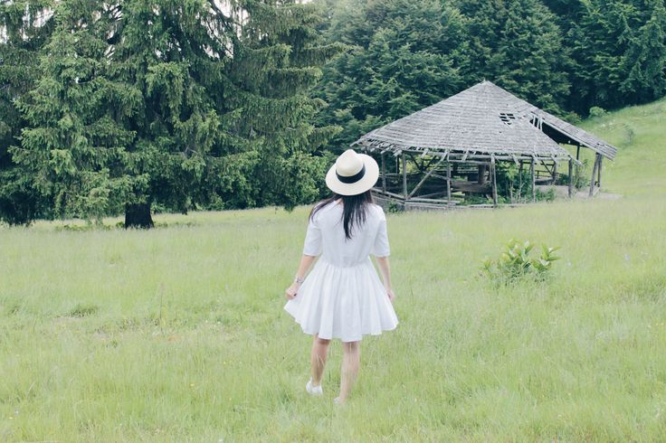 #dress #ootd #white #travel #holiday #mountain