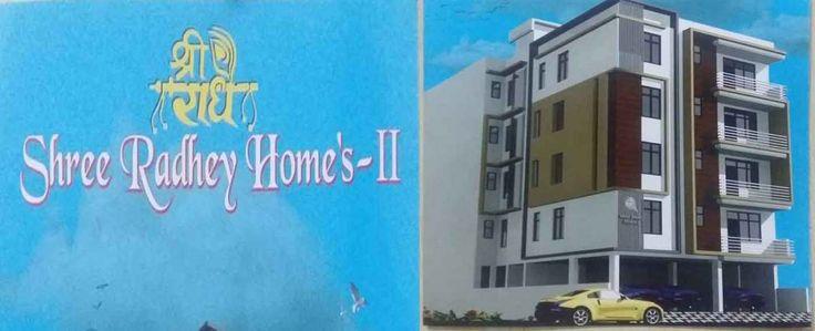 2BHK & 3BHK Flats at Krishna Sarovar Near Patrakar Colony & Iskcon Temple Mansarovar Jaipur