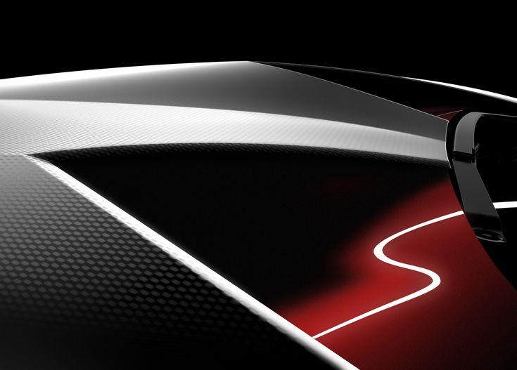 Lamborghini Sesto Elemento, detail